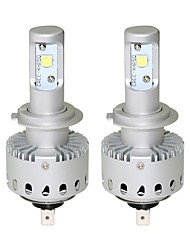 economico -1 set plug and play design 40w 4000lm 6500k bianco freddo xhp50 led head kit kit h7 h8 h9 h10 h11 9005 9006
