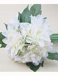 """Недорогие -Свадебные цветы Букеты Свадьба Особые случаи Шелк 7,87""""(около 20см)"""