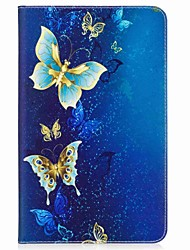 cheap -Butterfly Pattern Card Holder Wallet with Stand Flip Magnetic PU Leather Case for Samsung Galaxy TAB A 10.1 T580N T585N 10.1 inch Tablet PC
