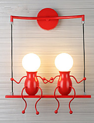 economico -AC 220-240 5 E27 Moderno/Contemporaneo Pittura caratteristica for LED Lampadina inclusa,Luce ambient Luce a muro