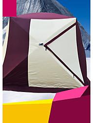 Недорогие -7 человек Рыболовная палатка На открытом воздухе С защитой от ветра Водонепроницаемая молния Однослойный Палатка >3000 mm для Отдых и Туризм Ткань для подбивки 200*200*205 cm