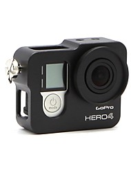 Aluminum Alloy Frame Mount Protective Housing Case Shell for GoPro  4 Black