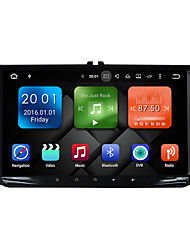 abordables -9 pulgadas quad core androide 6.0 coches multimedia gps sistema reproductor 2gb ram wifi&3g ex-tv dab para vw magotan 2007-2011 golf