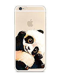 For iPhone 7 iPhone 7 Plus Case Cover Ultra-thin Translucent Pattern Back Cover Case Animal Panda Soft TPU for Apple iPhone 7 Plus iPhone