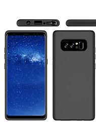 preiswerte -Hülle Für Samsung Galaxy Note 8 Mattiert Rückseite Volltonfarbe Hart PC für Note 8