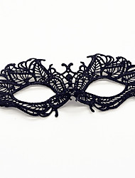 Sexy Women Black Lace Mask Masquerade Mask Halloween Prop Cosplay Accessories Carnaval Masquerade Party Costume Prop