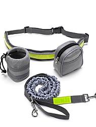 cheap -Dog Leash Hands Free Leash Reflective Breathable Classic Nylon Green Black
