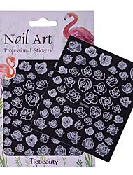 1 Nail Art Sticker  Pattern Accessories Grooming Art Deco/Retro 3D Nail Stickers Sticker DIY Supplies Makeup Cosmetic Nail Art Design
