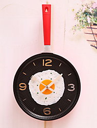 cheap -Casual / Country / Modern / Contemporary Mixed Material Round Indoor / Outdoor / Indoor,AAA Wall Clock