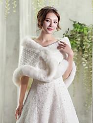 abordables -vestido de novia de la piel sintética / capas del abrigo de las mujeres de la tarde elegante estilo