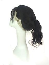 chiusure frontali della fascia del merletto 360 del corpo lussuoso chiude ornamenti nodi neri all'orecchio chiusure frontali del merletto