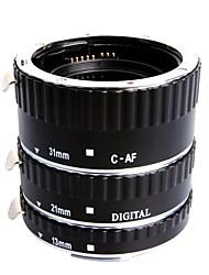 estensione metallo di estensione metallo di estensione macro set per canon eos ef ef-s slr telecamere
