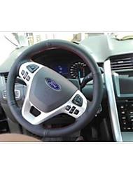 Automotivo Capas para Volante(Couro)Para Ford Todos os Anos Edge