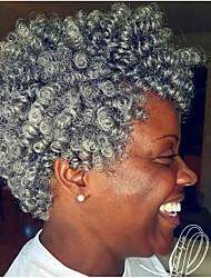 economico -Capelli intrecciati Riccio / Toni Curl Ricci intrecciati 100% capelli kanekalon 20 radici / confezione capelli Trecce Corto Treccia colorata schiarita