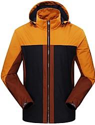 Недорогие -Муж. Куртка для туризма и прогулок На открытом воздухе Зима С защитой от ветра Дожденепроницаемый Устойчивы к ультрафиолетовому излучению