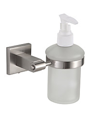 Soap Dispenser / Nickel Brushed Stainless Steel