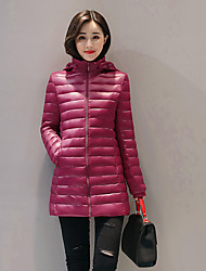 Hot! Fashion M-3XLPlus  Size  Winter Women Parka Outerwear Duck Down Jacket With Large Fur Collar Plus Thickening Long Coat down jacket for women