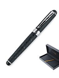 168 черная роликовая ручка с крокодиловой кожей