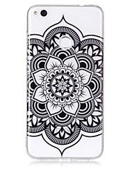 economico -cassa per huawei p8 lite (2017) p10 lite telefono caso tpu materiale mandala modello hd cassa del telefono p9 lite
