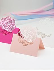 Marque-place(,Papier durci) -Thème jardin Thème classique Vacances Fête prénatale Autres Romance Naissance Anniversaire Mariage