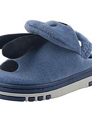 Boys' Shoes Velvet Winter Fur Lining Fluff Lining Comfort Slippers & Flip-Flops Pom-pom For Casual Khaki Light Grey Navy Blue