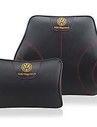 Automotive Headrest & Waist Cushion Kits For Volkswagen All years All Models Car Waist Cushions Leather
