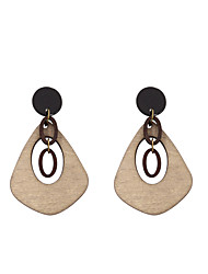 cheap -Women's Drop Earrings - Personalized, Fashion Black For Daily / Casual