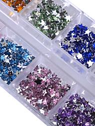 cheap -1 Glitter Accessories Stars Crystal Art Deco/Retro Rhinestones Nail Jewelry Parts Accessories DIY Supplies Cartoon Christmas 3-D Glitters
