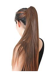 cheap -Women Human Hair Lace Wig Glueless Lace Front 130% Density Straight Wigs Brazilian Hair Black/Dark Auburn Medium Long Ombre Hair Natural