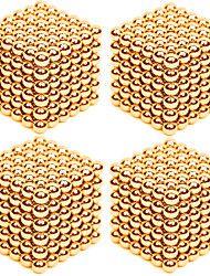 cheap -Magnet Toys Super Strong Rare-Earth Magnets Magnetic Balls Stress Relievers 4 Pieces 3mm Toys Stress and Anxiety Relief Office Desk Toys