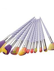 economico -Pennello sopracciglia Pennello applicatore per eyeliner Spazzola del ciglio Pennello a ventaglio Pennello per polveri Pennello da