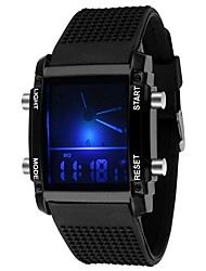 cheap -Men's Quartz Digital Watch Military Watch Sport Watch Chinese Calendar / date / day Chronograph Water Resistant / Water Proof LED Punk