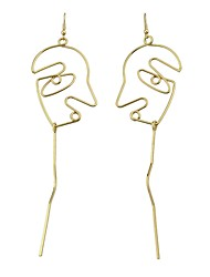 Women's Drop Earrings Jewelry Fashion Hip-Hop Alloy Jewelry Jewelry For Casual Date