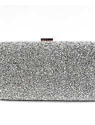 cheap -Women Bags PU Evening Bag Beading for Wedding Event/Party All Seasons Gold Black Silver