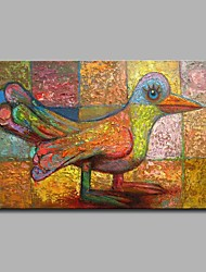 Недорогие -черепаха голубь 100% ручная роспись современные картины маслом современное искусство настенного искусства для украшения комнаты