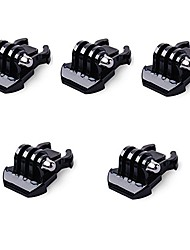 5x Buckle Clip Basic Mount for GoPro Accessories for GoPro Hero 5 4 3 2 1 Black Silver Session SJCAM SJ4000 SJ5000 SJ6000 Camera