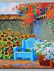cheap -Garden Wall Decor Hand Painted Contemporary Oil Paintings Modern Artwork Wall Art