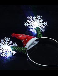 1 pcs noël décoration articles noël lumière bandeau couleur aléatoire