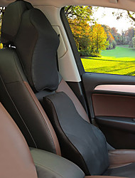 Automotive Headrest & Waist Cushion Kits For universal All years Car Headrests Leather