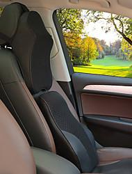 abordables -Automotor Kits de cojines para el reposacabezas y cintura Para Universal Todos los Años Reposacabezas para coche Tejidos