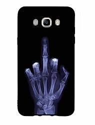 Custodia Per Samsung Galaxy J7 (2017) J3 (2017) Fantasia/disegno Custodia posteriore Teschi Morbido TPU per J7 (2016) J7 (2017) J7 V J7