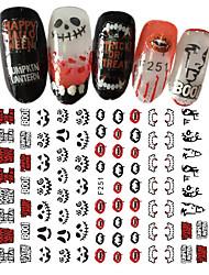 1pcs Halloween Nail Art 3D Sticker Sexy Lips Individual Character Funny DIY Decoration F251