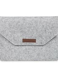 Недорогие -Рукава для MacBook Pro, 15 дюймов MacBook Air, 13 дюймов MacBook Pro, 13 дюймов MacBook Air, 11 дюймов Сплошной цвет Полиэфир материал