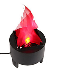 cheap -YouOKLight 3W AC100-240V LED Stage Effect Flame Lights Electronic Brazier Light EU / US Plug 1pcs