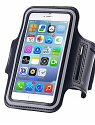 cheap -For iPhone X iPhone 8 Case Cover Water Resistant Armband Armband Case Solid Color Soft PC for Universal iPhone X iPhone 8 Plus iPhone 8