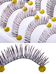 Eyelashes lash Full Strip Lashes Women Outdoor Lady Eye Daily Eyes Eyelash Universal Holiday Crisscross Thick Natural Long Lengthens the
