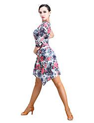 preiswerte -Latein-Tanz Balletröckchen und Röcke Damen Leistung Samt Chiffon Röcke