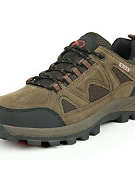 cheap -Men's Shoes Cashmere Spring / Fall Light Soles Athletic Shoes Hiking Shoes Gray / Brown / Army Green