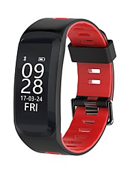 cheap -YY F4 Men's Woman Smart Bracelet Blood Oxygen/Blood Pressure/Heart Rate/Calorie/Elevation/Pressure/Weather for Android Ios