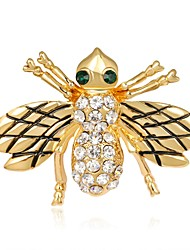 cheap -Women's Brooches Synthetic Diamond Animal Design Adorable Rhinestone Alloy Animal Shape Jewelry For Stage Going out